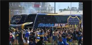 Bus Boca Juniors Diserang, Sopir Pingsan, Presiden Jadi Sopir, Superclasico Ditunda Deh