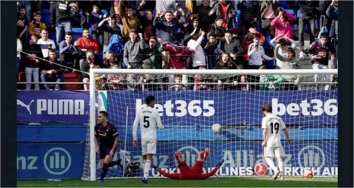 Ampun! Real Madrid Tertinggal 1-0 di Babak Pertama