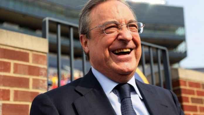 Florentino Perez Presiden Real Madrid