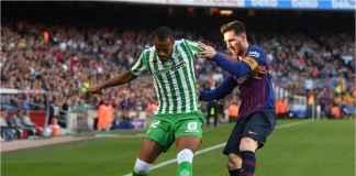 Hasil Barcelona vs Real Betis, Lionel Messi Kembali, Eh Malah Kalah