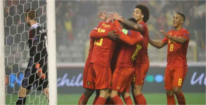 Hasil Belgia vs Islandia Skor 2-0 di UEFA Nations League