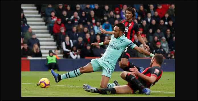 Hasil Bournemouth vs Arsenal Skor 1-2, Satu Poin di Bawah Chelsea!