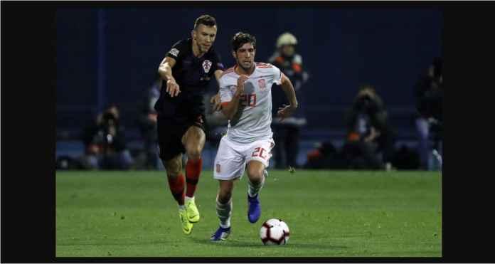 Hasil Kroasia vs Spanyol Skor 3-2 di UEFA Nations League