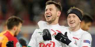 Hasil Lokomotiv oscow vs Galatasaray di Liga Champions Grup D
