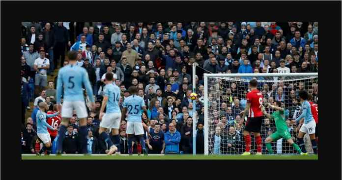 Hasil Manchester City vs Southampton Skor Akhir 6-1