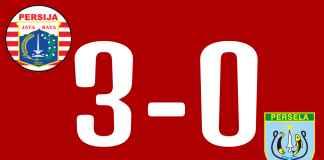 Hasil Persija Jakarta vs Persela Lamongan