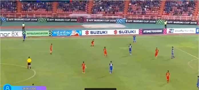 Hasil Thailand vs Indonesia Skor 4-1 di Piala AFF
