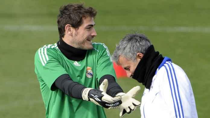 Jose Mourinho Sebut Iker Casillas Tukang Sembunyi