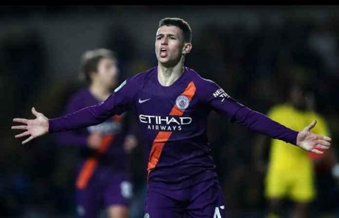 Manchester City Andalkan Phil Foden Atasi Krisis di Lini Tengah