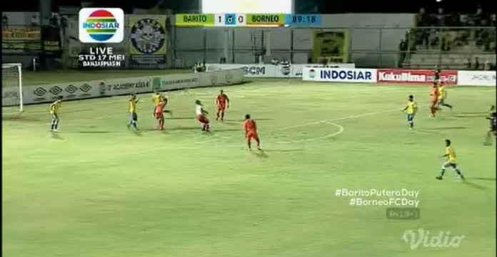 Hasil Barito Putera vs Pusamania Borneo FC Skor 1-0, Tuan Rumah Meroket!