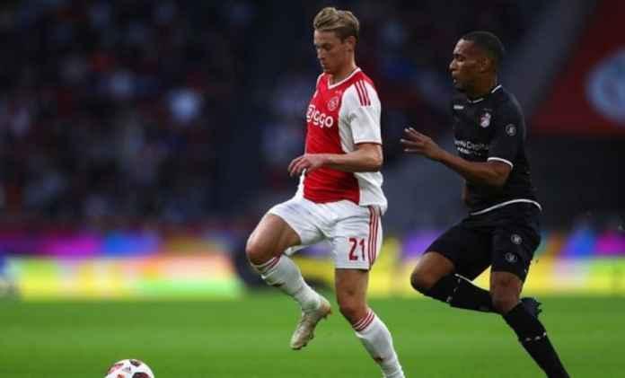Manchester City Kalahkan Barcelona Gaet Frenkie De Jong dari Ajax
