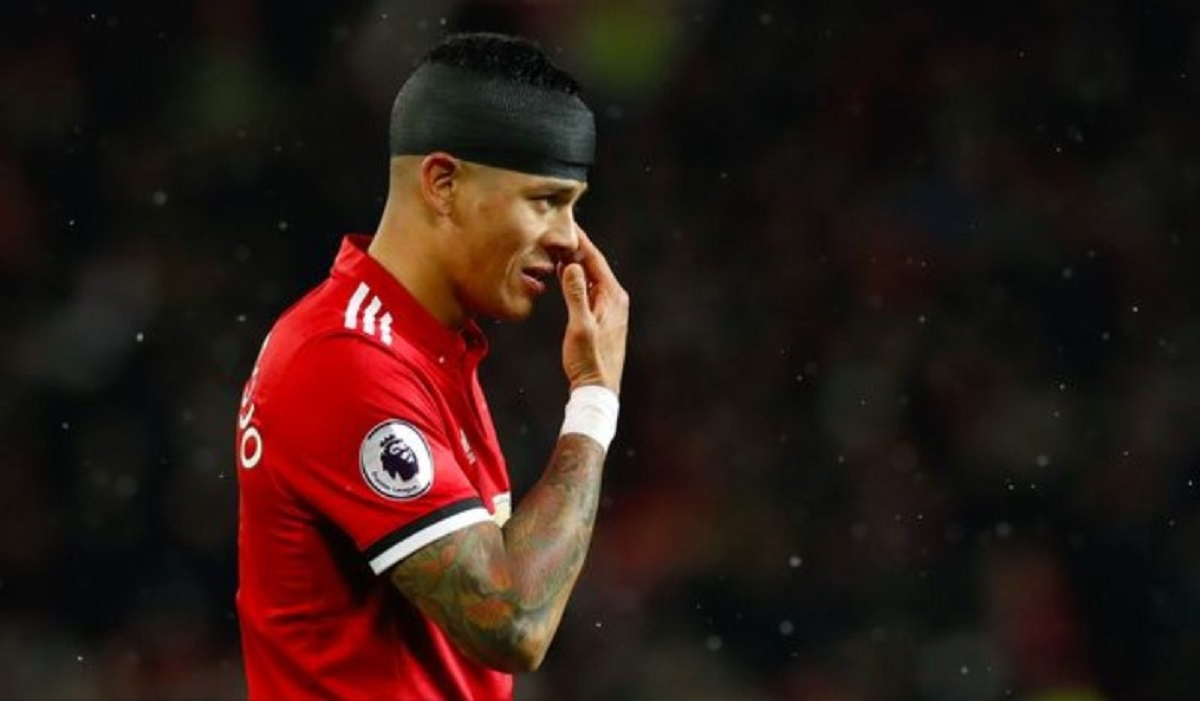 Manchester United Mungkin Lepas Marcos Rojo Ke Wolverhampton