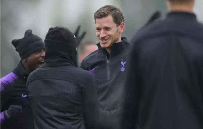 Jan Vertonghen Perkuat Tottenham Hotspur di Laga Kontra Chelsea