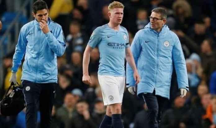 Bintang Manchester City Kevin De Bruyne Cedera Lagi