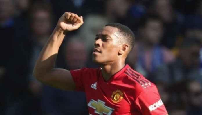 Penyerang Manchester United Anthony Martial Kembali ke Timnas Prancis