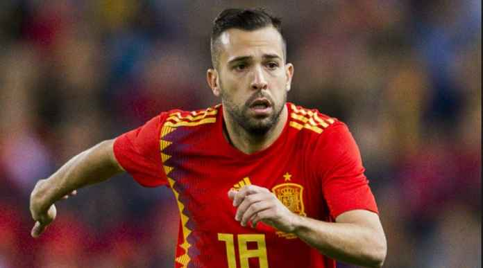 Jordi Alba Kembali Tak Masuk Timnas Spanyol