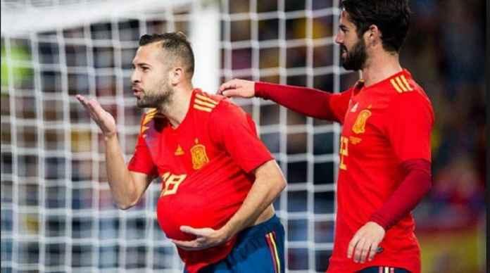 Jordi Alba Akhirnya Kembali ke Timnas Spanyol