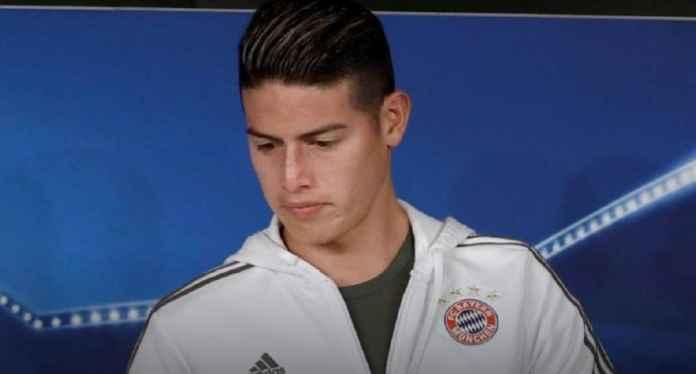Juventus dan Agen Diskusikan Transfer James Rodriguez