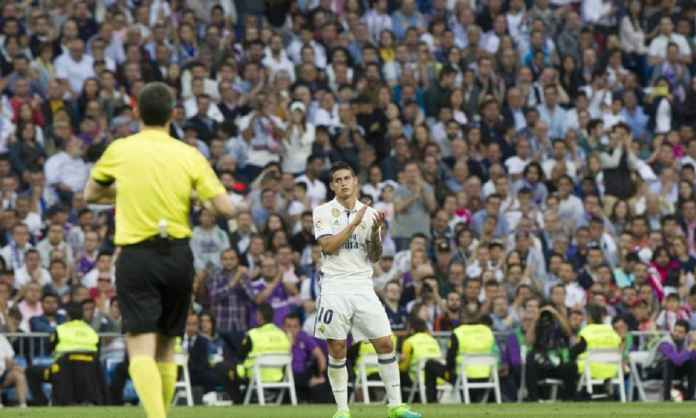 Juventus Kembali Tegaskan Siap Tampung James Rodriguez