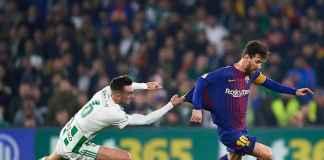 Lionel Messi Cemaskan Cedera Lengannya Saat Barcelona Kalah