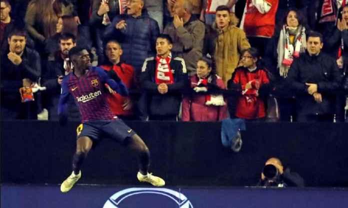 Pelatih Barcelona Tinggalkan Ousmane Dembele Saat Menjamu Real Betis