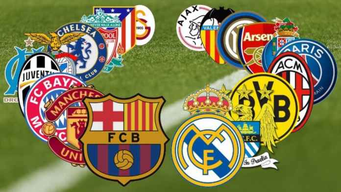 16 Klub Raksasa Eropa Gabung Liga Super Eropa, Tinggalkan Liga Champions