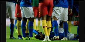 Hasil Brasil vs Kamerun Skor 1-0, Neymar Cuma Main 8 Menit! Cedera Paha!