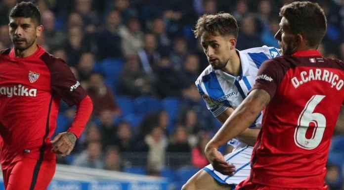 Hasil Real Sociedad vs Sevilla Liga Spanyol Skor Akhir 0-0