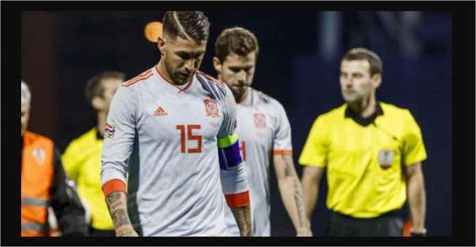 Tragis! Sudah Kalah 3-2, Nasib Spanyol Tergantung Inggris dan Kroasia