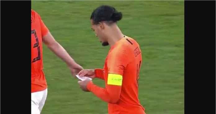 Contekan Virgil Van Dijk Ini Loloskan Belanda ke Semi Final UEFA Nations League