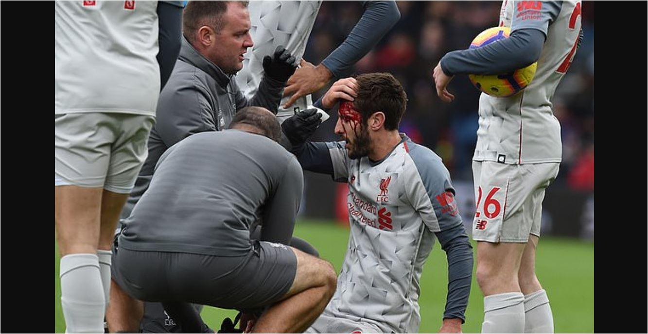 Liverpool Menang 4-0 Diwarnai Adegan Berdarah Adam Lallana