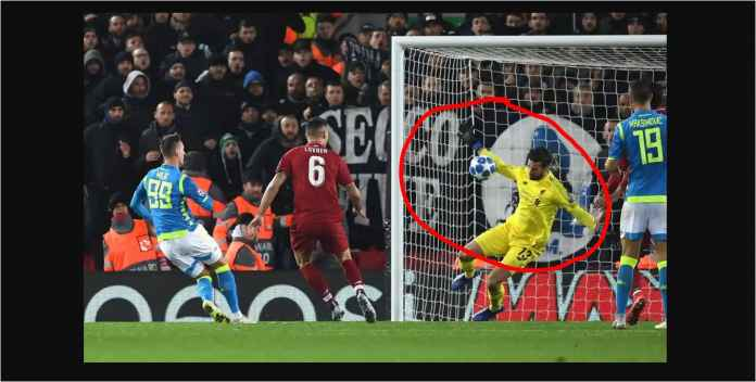 Liverpool Hampir Kebobolan Gol Napoli Detik-detik Terakhir