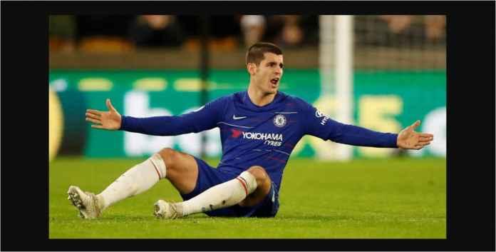 Chelsea Kalah 2-1, Alvaro Morata Masuk ke Gawang, Bola Ketinggalan di Luar