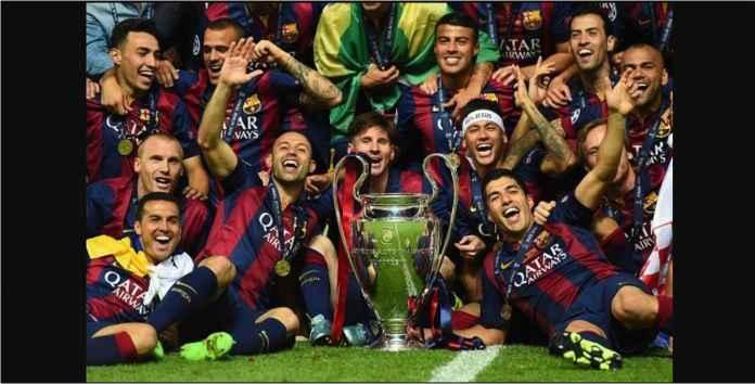 Barcelona Ketemu Lyon di babak 16 Besar Liga Champions