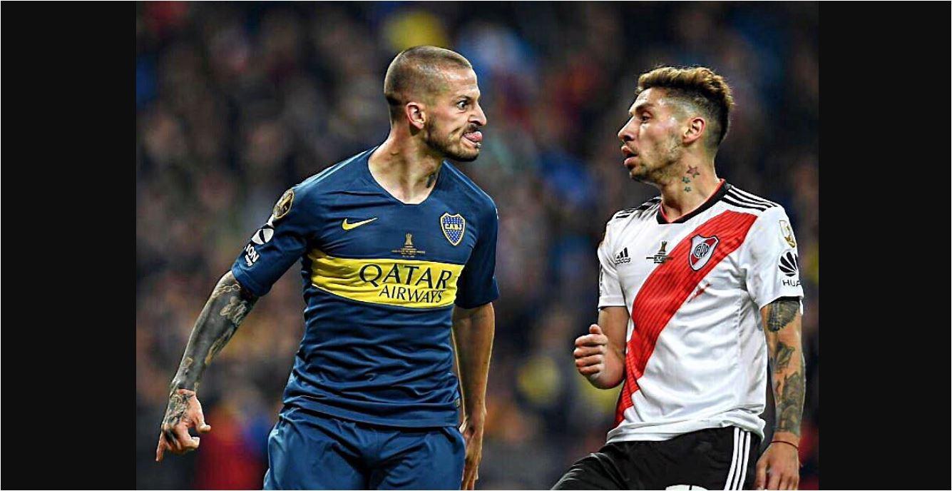 Viral! Perayaan Gol Diario Benedetto di Copa Libertadores