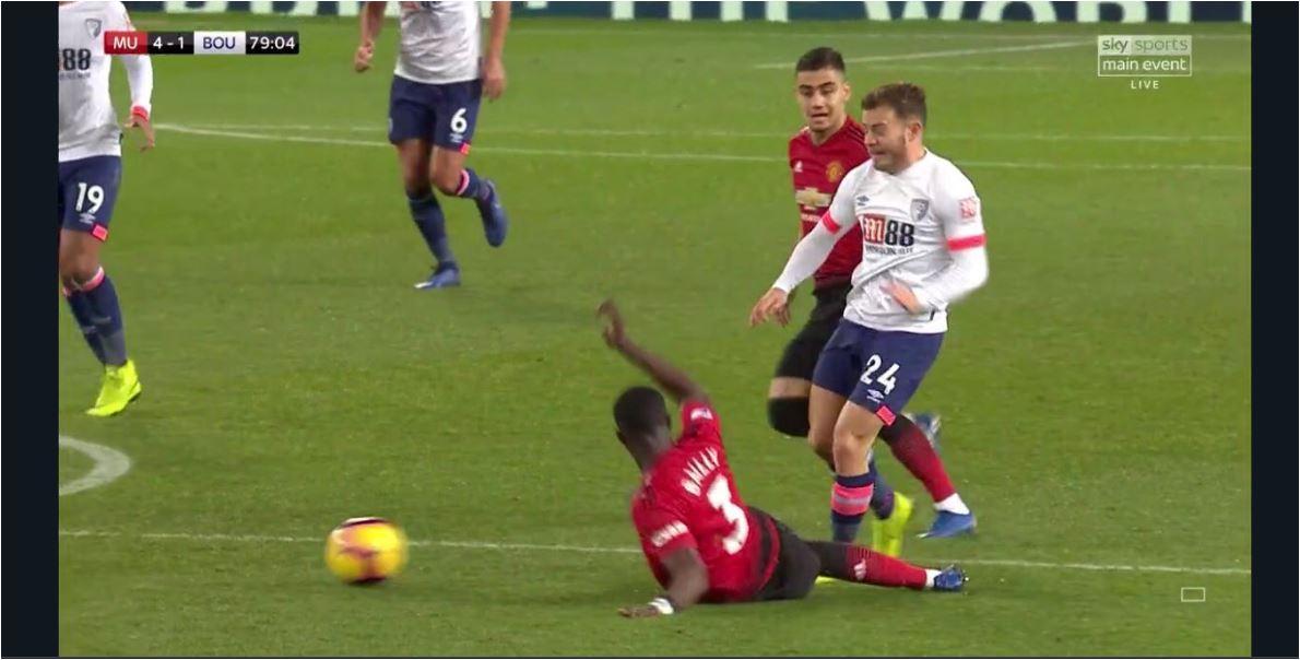 Hasil Manchester United vs Bournemouth, Skor 4-1