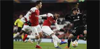 Hasil Arsenal vs Qarabag Skor 1-0