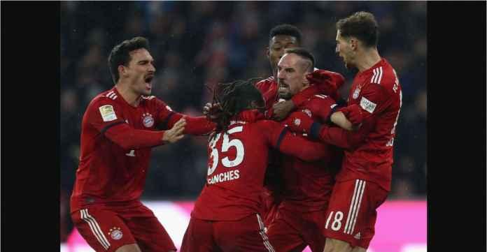 Bayern Munchen Menang Diselingi Dua Kartu Merah!