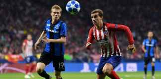 Hasil CLub Brugge vs Atletico Madrid, Liga Champions
