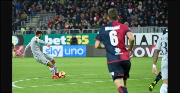 Hasil Cagliari vs Roma Skor 2-2, Dua Kartu Merah, Giallorossi Gagal Menang