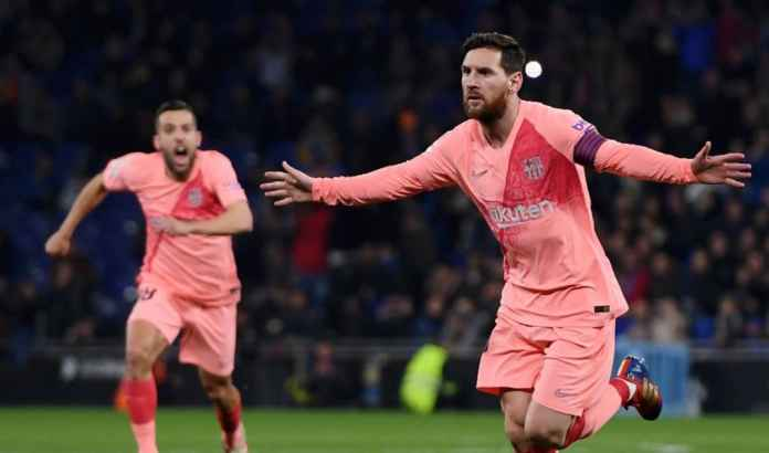 Hasil Espanyol vs Barcelona, Liga Spanyol