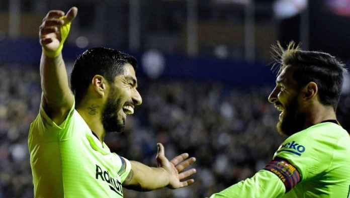 Hasil Levante vs Barcelona, Liga Spanyol