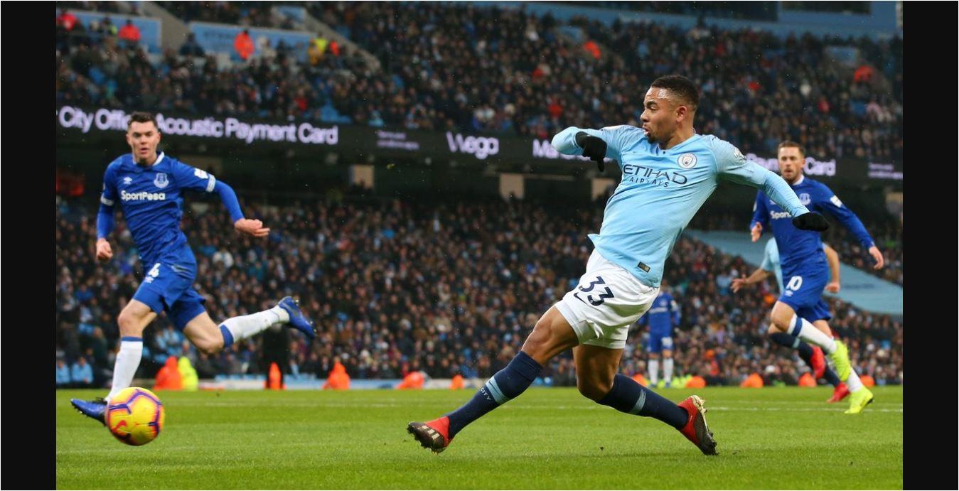 Hasil Manchester City vs Everton Skor 3-1, Jesus Bawa The ...