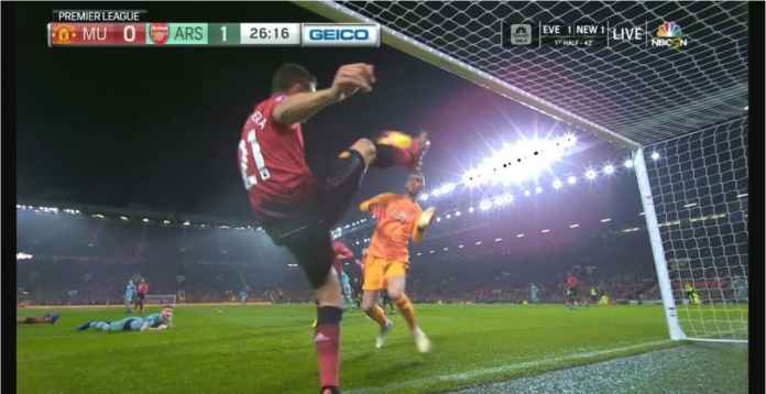 Hasil Manchester United vs Arsenal Skor 2-2, Gol Susul Menyusul
