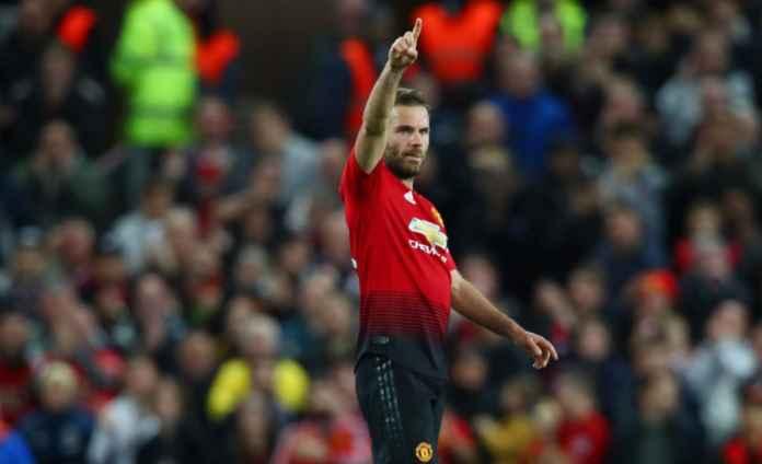Hasil Manchester United vs Fulham FC, Juan Mata