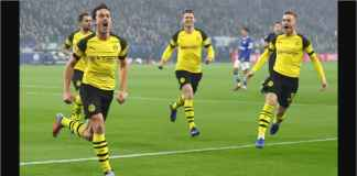 Hasil Schalke 04 vs Borussia Dortmund Skor 1-2