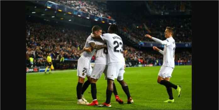 Hasil Valencia vs Manchester United Skor 2-1, Buang-buang Kesempatan