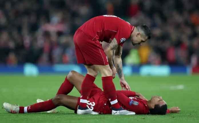 Liverpool Kehilangan Joel Matip Saat Menjamu Napoli