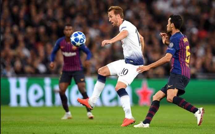 Harry Kane Senang Tottenham Hotspur Tahan Imbang Barcelona