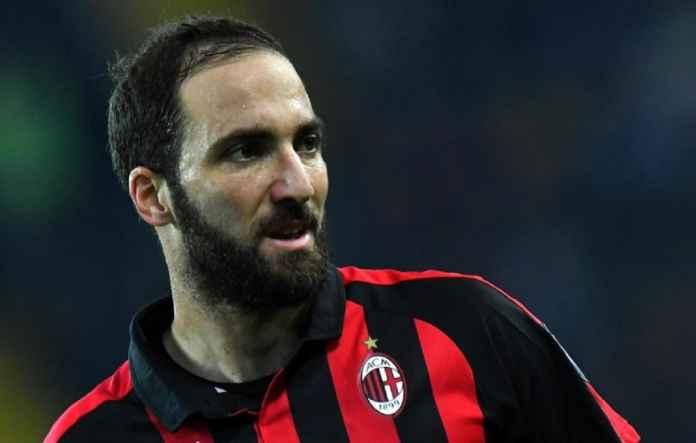Chelsea Hidupkan Lagi Minat Datangkan Gonzalo Higuain dari AC Milan